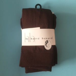 Chocolate Brown Fleece Lined Tights